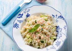 Risotto cremos cu dovlecel Risotto, Baby Food Recipes, Potato Salad, Potatoes, Ethnic Recipes, Recipes For Baby Food, Potato