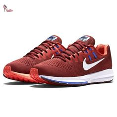Nike Air Zoom Structure 20, Running Homme, Rouge (Team Red/Max Orange/Medium Blue/White), 43 EU - Chaussures nike (*Partner-Link)
