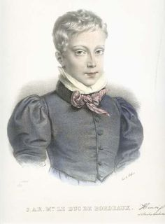 Henri Count of Chambord was born on 29 September 1820 at the Tuileries Palace and named Henri of Artois. Henri was the son of Charles Ferdinand, Henri V, Franz Josef I, Two Sicilies, Charles X, French Royalty, Francis I, Maria Theresa, Chambord, Louis Xiv