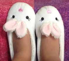 Awesome bunny slippers Bunny Slippers, Bunnies, Awesome, Shoes, Fashion, Moda, Zapatos, Shoes Outlet, Fashion Styles