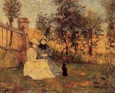 The Athenaeum - Conversation (Paul Gauguin - )