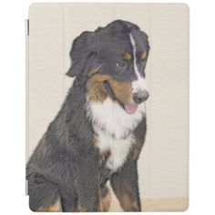 Bernese Mountain Dog iPad Smart Cover - dog puppy dogs doggy pup hound love pet best friend