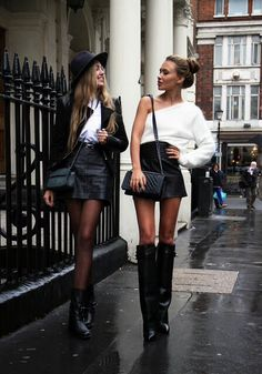 Boots and leather