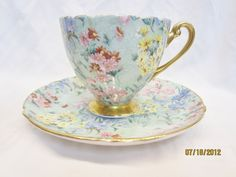 shelley chintz china cups