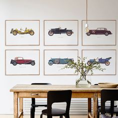 Style Your Home Today With This Amazing 6 Panel Wecker Vintage Unframed Wall Canvas Art For $243.00  Discover more canvas selection here http://www.octotreasures.com  If you want to create a customized canvas by printing your own pictures or photos, please contact us.