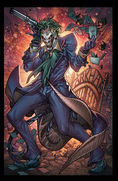 The Joker - Colors by Juan Fernandez, Lines - Paolo Pantalena