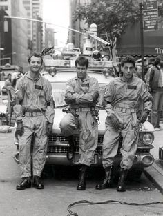 Ghostbusters - Bill Murray, Dan Aykroyd, and Egon Spengler *