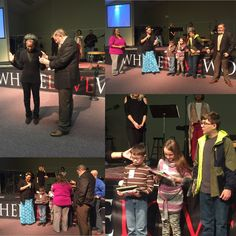 What a wonderful service this past Sunday! Prophetic Arts Director Kimberly Bakhakh, Area Pastor Andrew, and Pastor Josh prayed over the Jr Prophetic Arts Graduates and we were blessed to pray a blessing of release over Ms. Doreen, we will be praying for you and can't to see you again!  #CliffdaleAlive #WhereLoveWorks