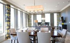 Dining room by Austin Bean Design Studio