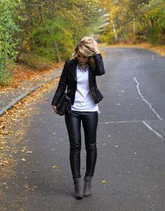 leather-fashionista:  Leather Fashion