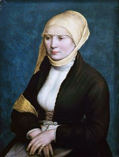 1520 Hans Holbein the Younger (1498-1543) Probably Elsbeth Binenstock, Artist's Wife
