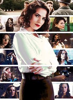Peggy Carter - SSR Agent, Director of SHIELD. Look out, we've got ourselves a BAMF over here.