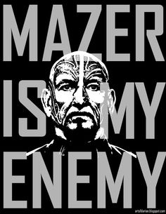 Mazer Rackham is My Enemy for Ender's Game Movie by Darian Robbins