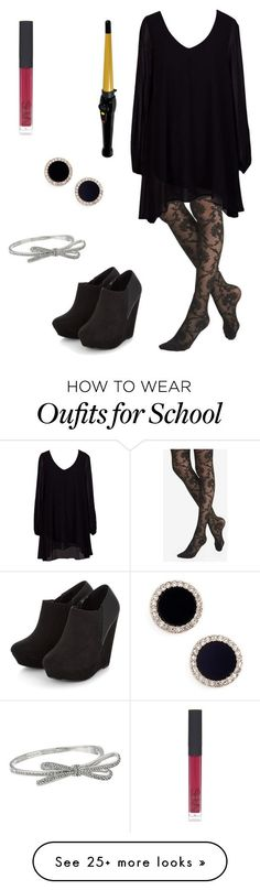 """""""Cosmetology school"""" by fashionista-diva-983 on Polyvore featuring Express, Kate Spade and NARS Cosmetics"""