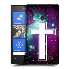 Head Case Nebula Cross Prints Hard Back Case Cover for Nokia Lumia 520 | eBay