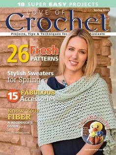 Love of Crochet Spring 2014 - 轻描淡写 - 轻描淡写