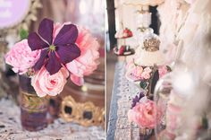 Vintage tea party inspiration | Wedding Ideas | 100 Layer Cake