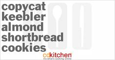A 5-star recipe for Keebler Almond Shortbread Cookies made with butter, sugar, confectioners\' sugar, egg, Butter Buds, vanilla extract, almond extract