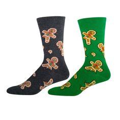Absolute Socks - Men's Gingerbread Men Socks, $9.99 (http://www.absolutesocks.com/featured/christmas-socks/mens-christmas-socks/mens-gingerbread-men-socks/)