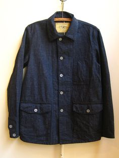 mens jean jacket by stevenson overall