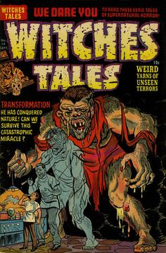 Cover for Witches Tales (Harvey, 1951 series) #14