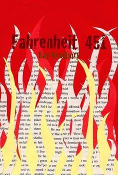 Fahrenheit 451 . Ray Bradbury.  El título hace referencia a la temperatura en la escala de Fahrenheit a la que el papel de los libros se inflama y arde. La historia transcurre en un futuro en el que los bomberos tienen la misión de quemar libros ya que, según el gobierno, leer impide ser felices. Montag, un bombero comienza a cuestionar su trabajo y su vida luego de conocer a una muchacha...Una joya literaria, que tal vez no sea tan ficticia como se la pinta después de todo