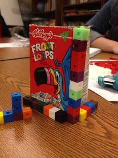Measure volumes by counting unit cubes, using cubic cm, cubic in, cubic ft, and improvised units. Measurement Kindergarten, Math Measurement, Teaching Math, Teaching Ideas, Teaching Resources, Fun Math, Math Activities, Sixth Grade Math, Fourth Grade
