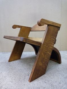 Vintage Modernist Child's Chair - Now sold