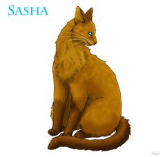 8: Sasha, reason: Mated with Tigerstar, replaced Goldenflower, and gave birth to Hawkfrost