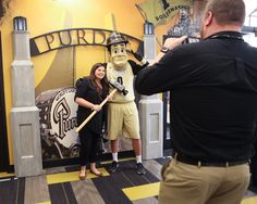 Boilermaker Station open in PMU - open Mon-Fri 8am-5pm and other hours as scheduled. A hub of connectivity for alumni, students and families, and the community. (photo via Rebecca Gibson)