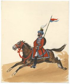 British; 5th Local Horse, Bengal, Native Officer, c.1840