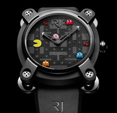 Pacman Watch - TIMEPIECES | ROMAIN JEROME