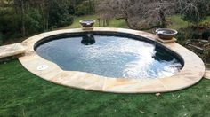 Small backyard? How about a Spool? it's a combo pool and spa by Atlanta Home Improvement