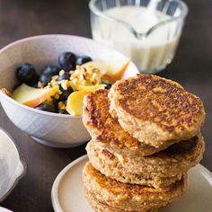 Amaranth-Pancakes mit Heidelbeeren