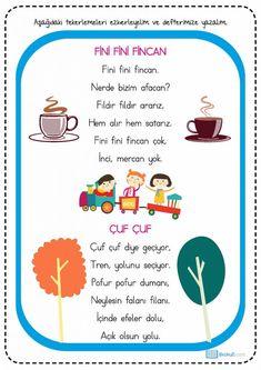 Montessori, Learn Turkish, Turkish Language, Clash Of Clans, Pre School, Preschool Activities, Kids Learning, Kindergarten, Drama