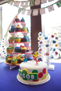 Sesame Street 1st Birthday Party - Kara's Party Ideas - The Place for All Things Party