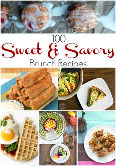 100 Sweet & Savory Brunch Recipes