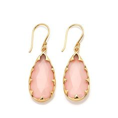 Rarities Chalcedony Vermeil Drop Earrings