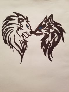 Made this for my boyfriend❤ Don't take credit Wolf Girl, Together Forever, Pyrography, Trippy, Tattos, Wolves, Ideas Para, Cool Art, Artworks