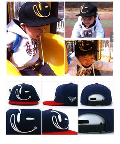 【宅急便送料無料】子供用帽子KIDSキャップSMILE Stark, Snapback, Hats, Fashion, Moda, Hat, Fashion Styles, Fashion Illustrations, Hipster Hat