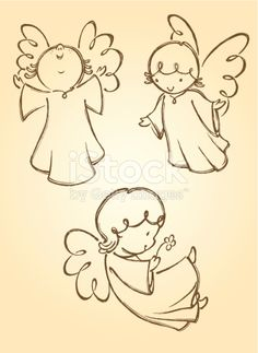 Variation of angel poses. Traced from my hand drawn artwork, properly… Variation of angel poses. Traced from my hand drawn artwork, properly grouped with high resolution jpg. Visit portfolio for More Valentines Series Lightbox Engel Illustration, Illustration Vector, Free Illustrations, Angel Sketch, Angel Drawing, Drawing Hands, Christmas Angels, Christmas Crafts, Angel Vector
