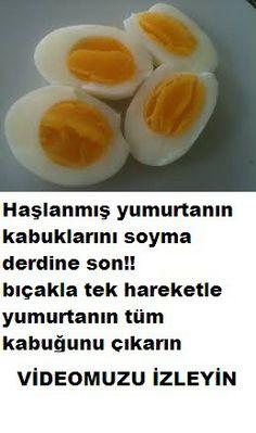 Sabah kahvaltılarının vazgeçilmezleri arasında haşlanmış yumurta gelir ve de özellikle katı olarak pişirilmiş yumurta ki son zamanlarda yapılan açıklamalarda yumurtayı katı halde pişirilmiş yemenin sağlık açısından daha yararlı olduğu belirtiliyor. Yumurtayı haşladınız sıra soyma...