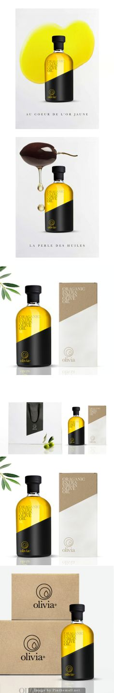 Olivia Organic Extra Virgin Olive Oil Designer: Julian Thebault Country: France