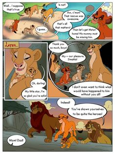 Anything to Win: Page 6 by Percy-McMurphy on DeviantArt Lion King 4, Lion King Story, Disney Lion King, Animation Sketches, Le Roi Lion, All That Matters, Disney Pixar, Deviantart, Comics