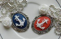 Nautical Cameo Necklace