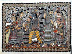 Madhubani Painting from Simri, Bihar