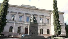 Tourism guide to Finland. A travel guide to the best attractions in Finland in summer and winter. Things to see and do when traveling in Finland. Finnish Language, Finland Travel, Helsinki, Monuments, Tourism, Author, Mansions, How To Plan, Architecture