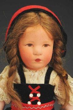 Kathe Kruse Child Doll. : Lot 84