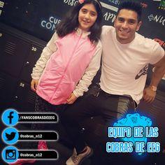 ¡¡QUE LINDOS!! ¡Nuestro capitán Rafael Cardozo y su hija Rafaella! #EquipoCobrasEEG
