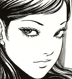 """富江"""" By Itō Junji - Tomie (富江?) is a Japanese horror manga series written and illustrated by Junji Ito"""